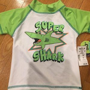 Other - Mick Mack Super Shark Rash Guard 3T Toddler NWT